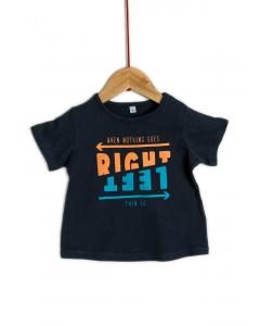 Tricou mânecă scurta bebe 6/36 luni