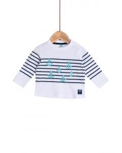 Tricou mânecă lungă bebe 6/36 luni