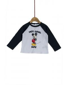 Tricou mânecă lungă bebe 6/36 luni Disney