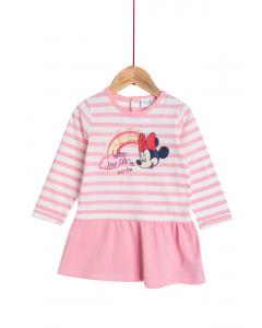 Rochie mânecă lungă bebe 6/36 luni Disney