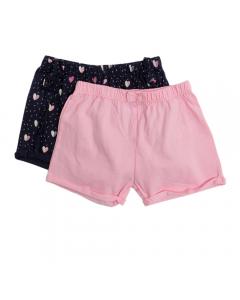 Set x2 pantaloni scurți bebe 9/36 luni
