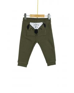 Pantaloni cu buzunar frontal bebe 6/36 luni