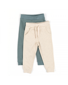 Set 2 pantaloni bebe 3/23 luni