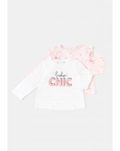 Set 2 bluze bebe 3/36 luni