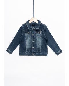 Jachetă jeans băieți 2/14 ani