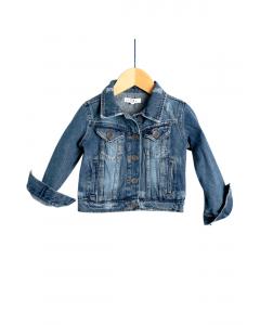 Jachetă jeans fete 2/14 ani
