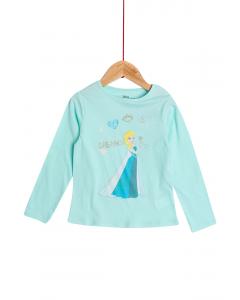 Tricou mânecă lungă fete 2/8 ani
