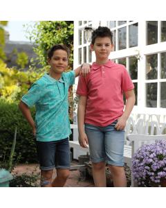 Tricou polo băieți 2/14 ani