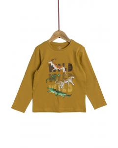 Tricou mânecă lungă băieți 2/14 ani