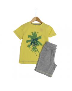 Set tricou + bermude băieți 2/14 ani