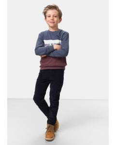 Pantaloni raiat băieți 2/14 ani