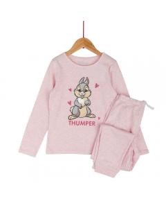 Pijama fete 2/8 ani Thumper