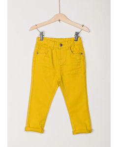 Pantaloni din twill elastic bebe 9/36 luni