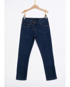Jeans fete cu 5 buzunare 2/14 ani