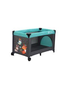 Petite&Mars - Patut pliant Vulpita Turquoise
