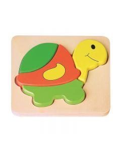 Joueco - Puzzle din lemn Broscuta