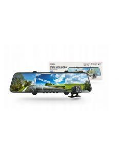 Camera auto DVR Xblitz Park View Ultra, Full HD, unghi de filmare 170°, senzor G, carcasa metal, dubla, neagra