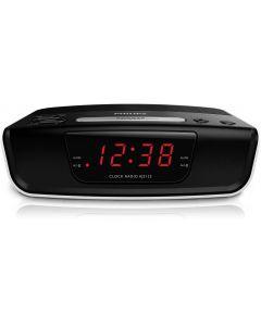 Radio cu ceas Philips AJ3123/12, Alb/Negru