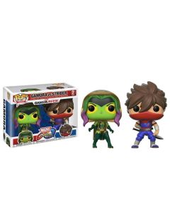 Set 2 Figurine Funko Pop - Gamora vs Strider