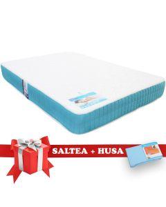 Set Saltea Latex Saltex 140x200 cm + Husa cu elastic