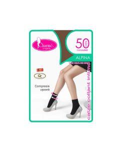 Sosete scurte femei Alpina 50 Gb 1/4,Charme,50 DEN,marime unica