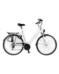 "Bicicleta Oras Devron 2824 Brighton 490mm Alb 28"""