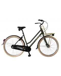 "Bicicleta Oras Devron 2862 Nelson 530mm Negru Mat28"""