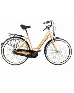 Bicicleta Dama Devron Urbio Lady C1.8 520mm Antique Brass 28""