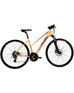 "Bicicleta Dama Devron Urbio LK2.8 L 520mm Mandarin Dream 28"""