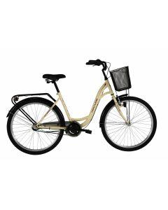 """Bicicleta Oras Venture 2616 480mm Crem 26"""""""