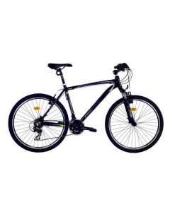 "Bicicleta MTB DHS Teranna 2623 457mm Negru/Gri 26"""
