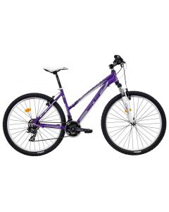 """Bicicleta Dama DHS Terrana 2722 Violet-Argintiu 457mm 27.5"""""""
