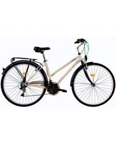 "Bicicleta Dama DHS Travel 2852 Maro 28"""