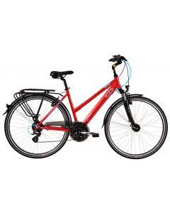 "Bicicleta Dama DHS Travel 2858 450mm Visiniu 28"""