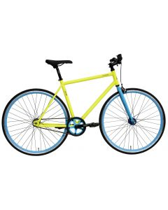"Bicicleta Oras DHS Fixie 2896 440mm Galben 28"""