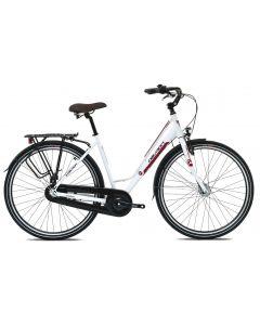 "Bicicleta Oras Devron Urbio LC1.8 M 520mm Ice White 28"""