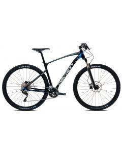 "Bicicleta MTB Devron Riddle Men R6.9 530mm Pure Black 29"""