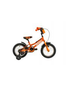 "Bicicleta Copii DHS 1401 Portocaliu 14"""