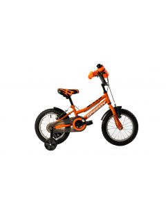 "Bicicleta Copii DHS 1403 Portocaliu 14"""