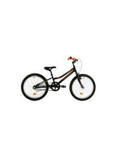 "Bicicleta Copii DHS Junior Teranna 2001 Negru 20"""