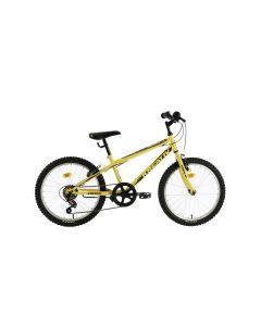 "Bicicleta Copii Kreativ 2013 Galben Negru 20"""