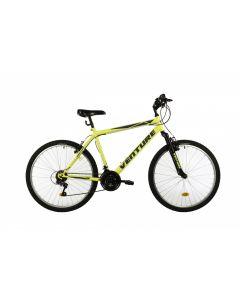 """Bicicleta MTB Venture 2601 500mm Galben 26"""""""