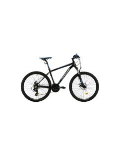 """Bicicleta MTB DHS Teranna 2625 420mm Negru 26"""""""