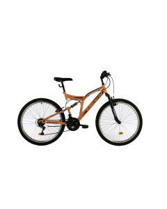 """Bicicleta MTB Kreativ 2641 457mm Portocaliu Deschis 26"""""""