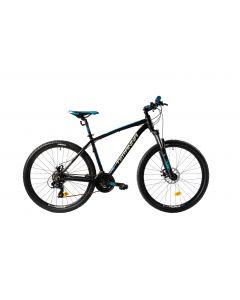 """Bicicleta MTB DHS Teranna 2725 420mm Negru 26"""""""