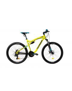 "Bicicleta MTB DHS 2745 480mm Galben 27.5"""