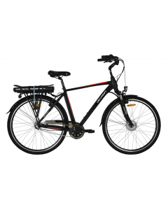 """Bicicleta Electrica Devron 28121 530mm Negru Mat 28"""""""