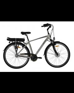 "Bicicleta Electrica Devron 28121 530mm Champagne 28"""