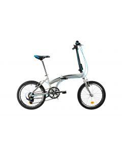 "Bicicleta Pliabila DHS 2095 Gri 20"""