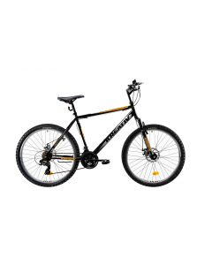 "Bicicleta MTB Kreativ 2605 500mm Negru/Argintiu 26"""